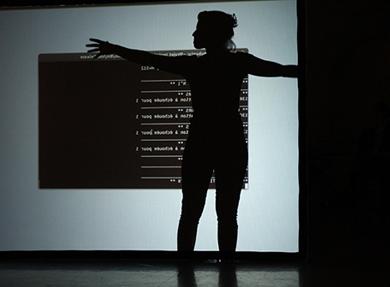Visuel - Anatomie dansée|Interface gestuelle & Anatomie du mouvement dansé