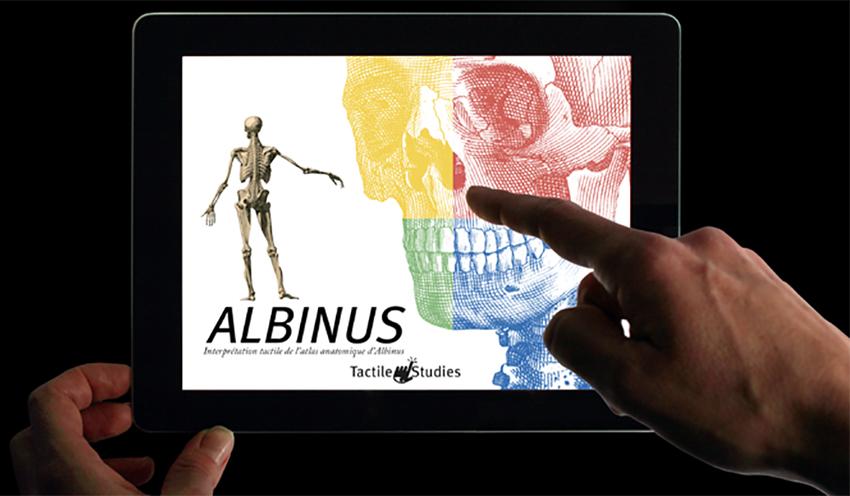 Visuel - Albinus|Publication digitale pour iPad