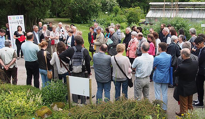 Visuel - Rendez-vous au Jardin|Restitution d'une collaboration entre scientifiques et artistes