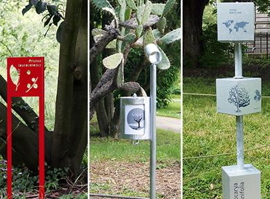 Visuel - Signalétiques didactiques|au Jardin botanique