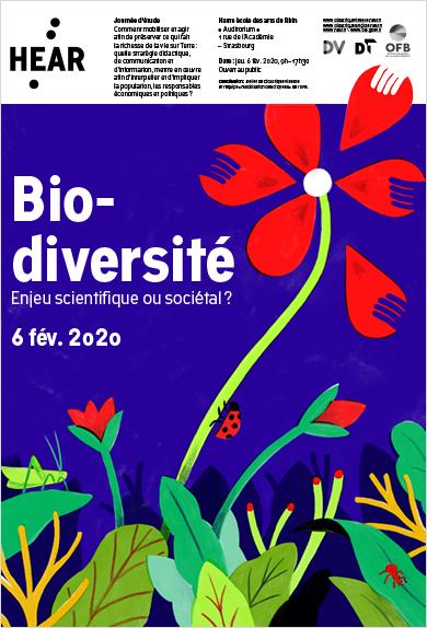 Visuel - Biodiversité | Enjeu scientifique ou sociétal ?